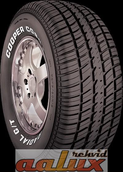 rehvid: 255/70R15 Cooper Cobra G/T RWL